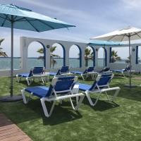 Zonas comunes hotel marlin antilla