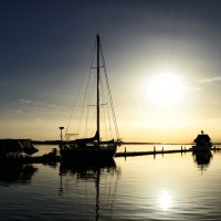 Puesta de sol La Antilla Playa